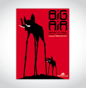 Design and Print of Treble Cone Big AIr Poster