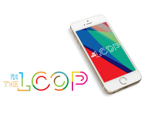 In the Loop logo and iphone by Future Creative